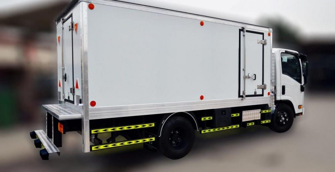 ثبت دما و رطوبت کامیونهای حمل و نقل کالاهای یخچالی