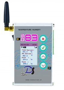 دیتالاگر ثبت دما و رطوبت مدلDS83