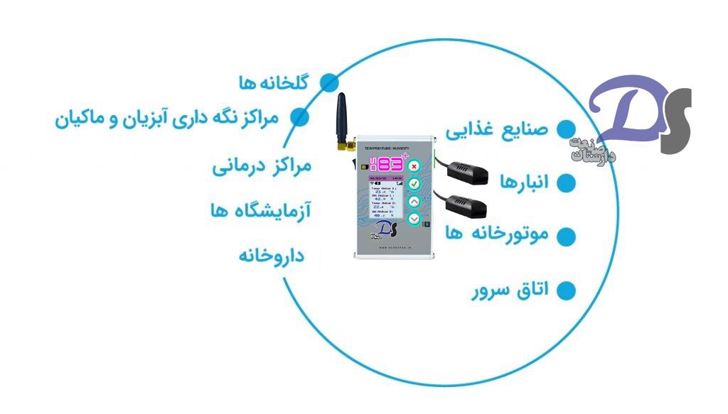 دستگاه ثبت دما و رطوبت دیجیتال