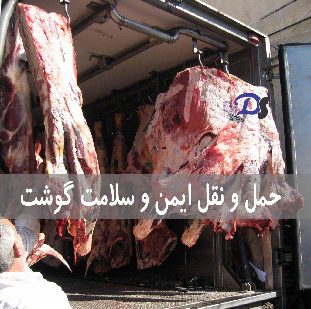 حمل و نقل ایمن و سلامت گوشت - دیتالاگر دما