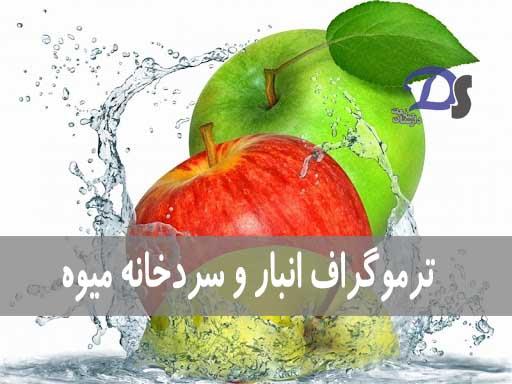 ترموگراف انبار و سردخانه میوه